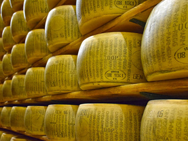 Parma e Parmigiano Reggiano